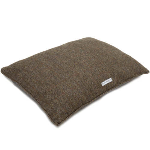 Heritage Tweed Pillow Dog Bed