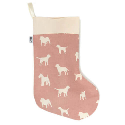 M&H Old Rose Christmas Stocking