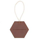 Tan Leather Doggy Bag Dispenser
