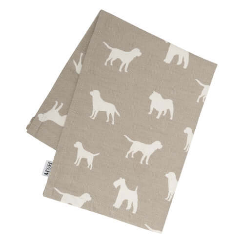 M&H French Grey Tea Towel