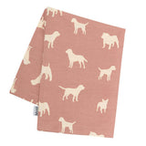 M&H Old Rose Tea Towel