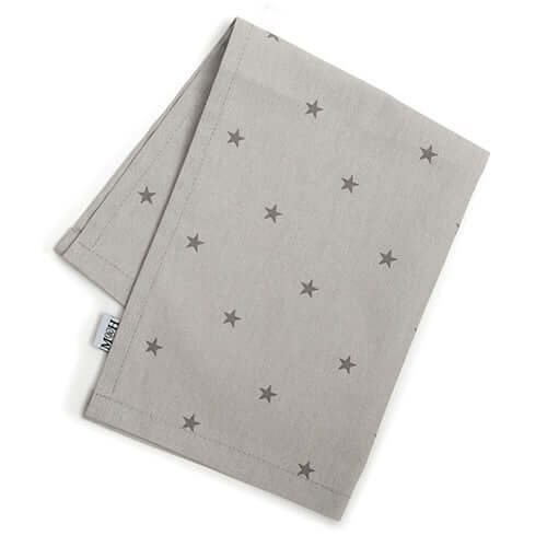 Grey Stars Tea Towel