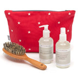 Cranberry Stars Wash Bag