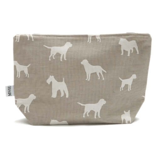 M&H French Grey Wash Bag