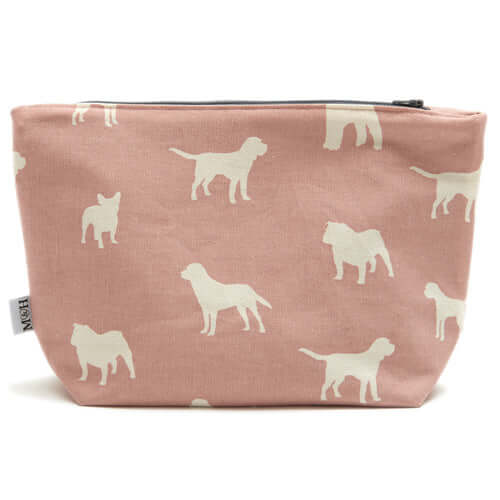 M&H Old Rose Wash Bag