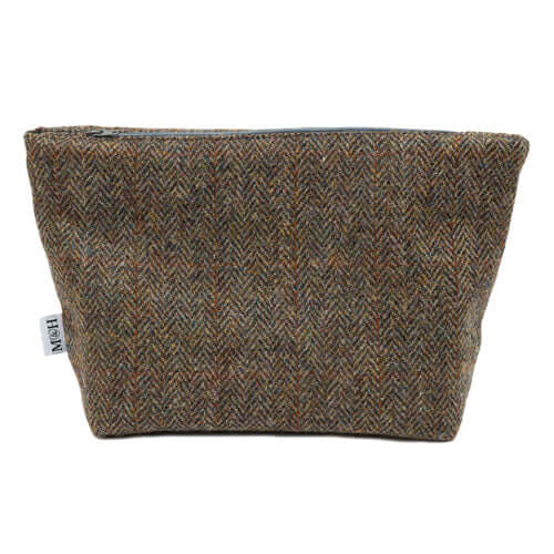 Heritage Tweed Wash Bag