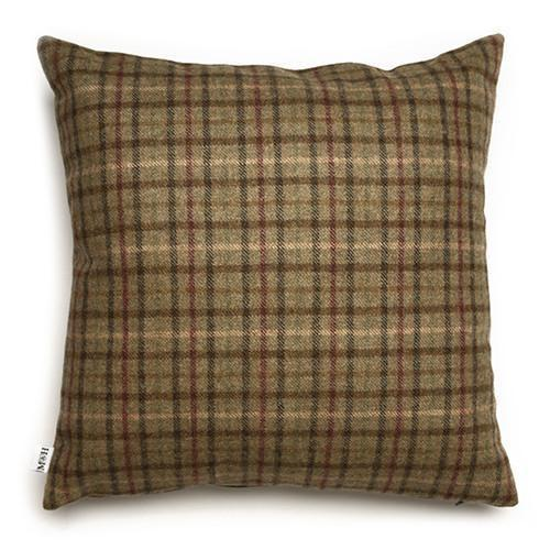 Mutts and Hounds Luxury Balmoral Tweed Cushion