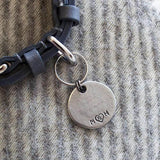 "Mutts and Hounds Luxury ""Free Kisses Given"" Slogan Dog Tag"