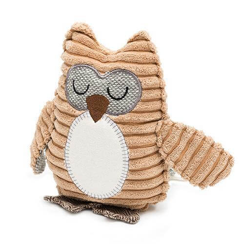 Mutts and Hounds Luxury Ollie Owl Plush Dog Toy