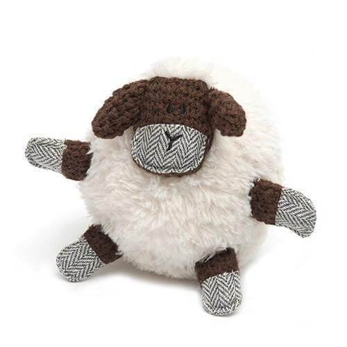 Mutts and Hounds Luxury Shelby Sheep Plush Dog Toy