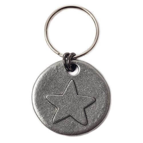Mutts and Hounds Luxury Star Motif Dog Tag