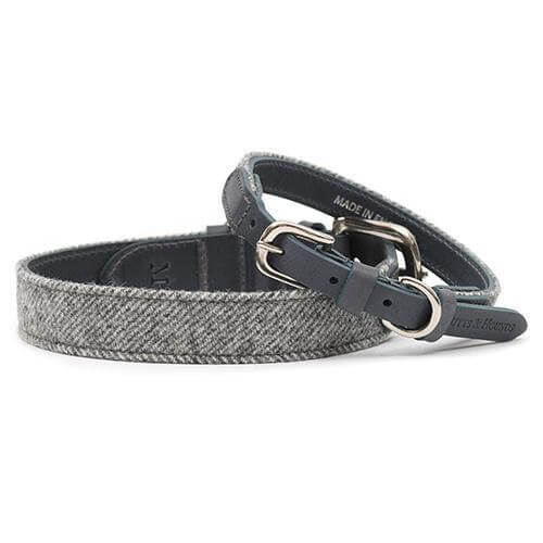 Mutts and Hounds Luxury Stoneham Tweed Dog Collar