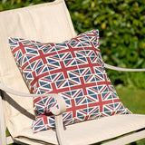 Mutts and Hounds Luxury Union Jack Linen Cushion