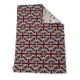 Mutts and Hounds Luxury Union Jack Linen Tea Towel
