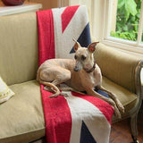 Mutts and Hounds Luxury Union Jack Merino Lambswool Blanket