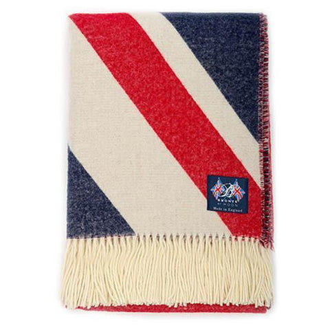 Union Jack Merino Lambswool Blanket