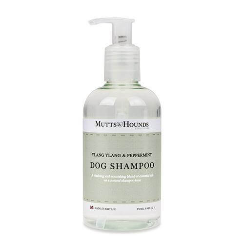 Mutts and Hounds Luxury Ylang Ylang & Peppermint Dog Shampoo