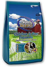 Nutrisource Chicken and Pea dog