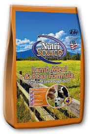 Nutrisource Lamb GF dog