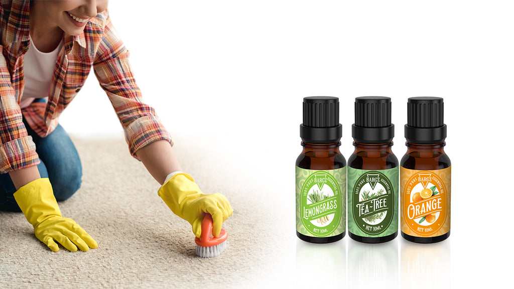 How to Clean Your Carpet Using Essential Oils