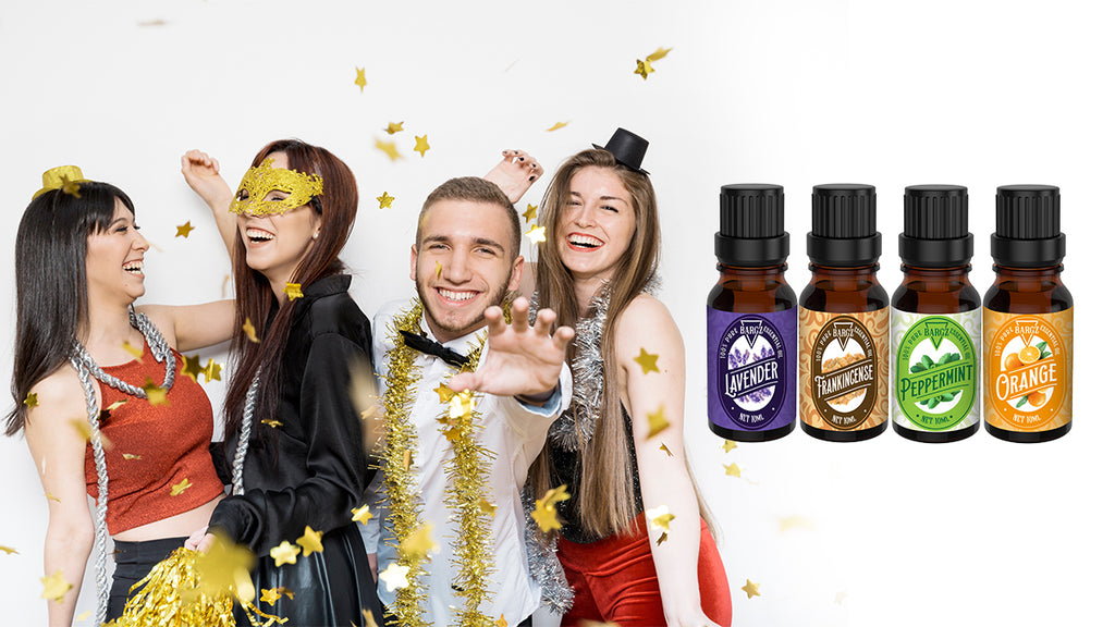 The Best Essential Oils for the New Year Celebration