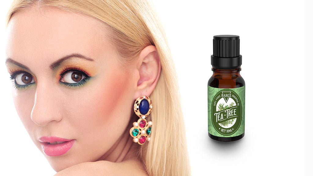 How to Treat Sore Earlobes with Tea Tree Essential Oil