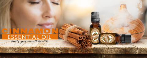 Cinnamon Oil, Glass Amber Bottle, Therapeutic, Classic Oil