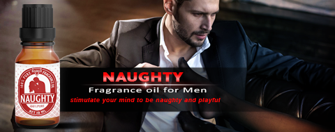 NAUGHTY Fragrance Oil For Men - Sample 3.69 ml (1 Per Customer)