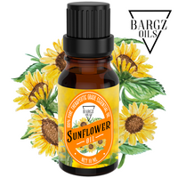 Sunflower Oil, Glass Amber Bottle, Therapeutic, Classic Oil