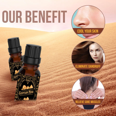 Image of Egyptian Musk Fragrance Oil, 100% Pure with Rich and Long-Lasting Aroma