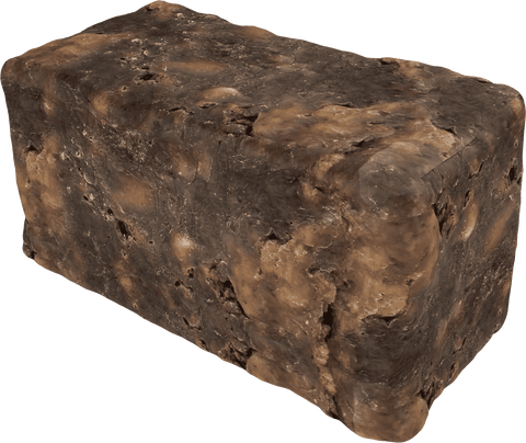 Image of Raw Black Soap - 100% Pure - Best for Treating Rosacea, Rashes, Dryness and other skin conditions - 1 LB BargzOils