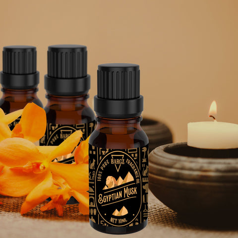 Egyptian Musk Fragrance Oil, 100% Pure with Rich and Long-Lasting Aroma