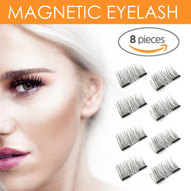 8x Magnetic Eyelashes Premium Quality False Eyelashes Set for Natural look