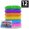 iCooker Effective Mosquito Repellent Bracelet DEET Free ▸ 320Hrs of Premium Pest Control Insect - 12 Pack