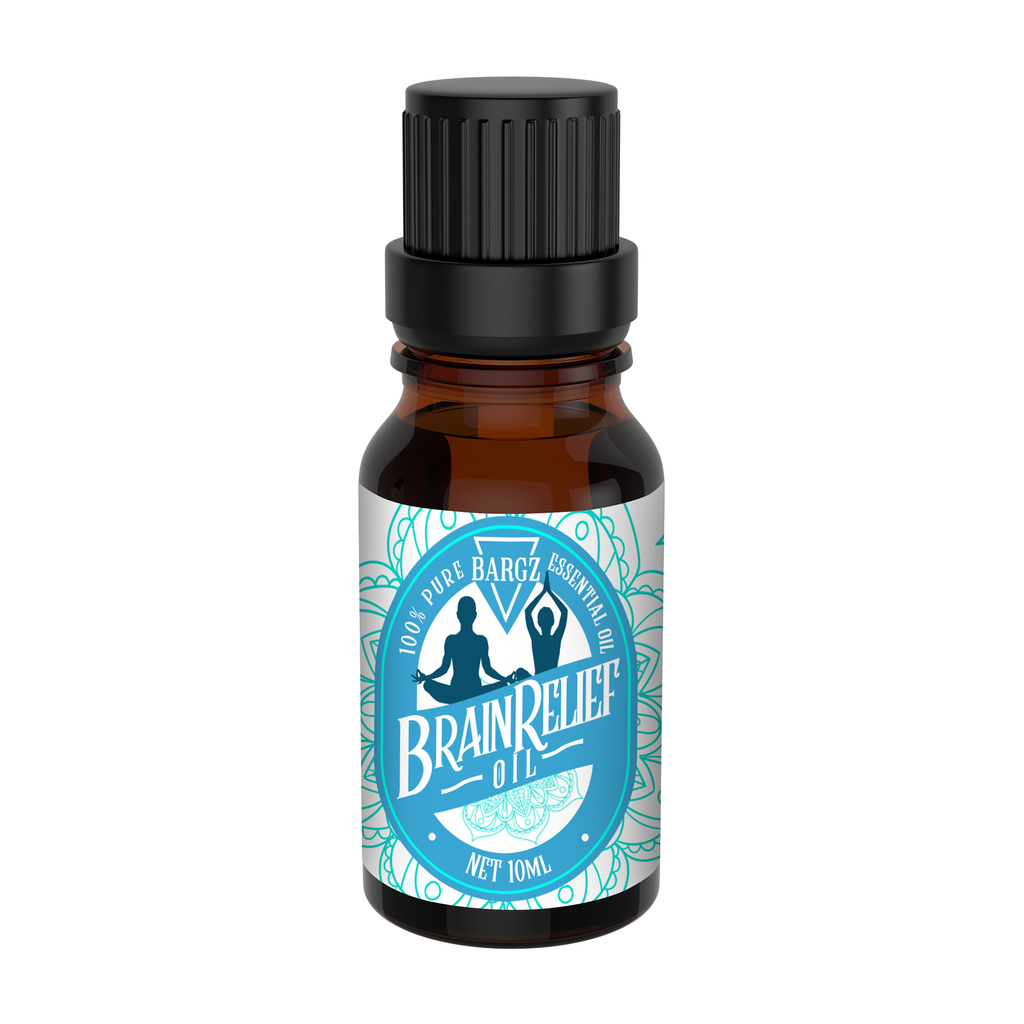 BrainRelief Essential Oil: Natural Relief Headaches, Migraines, Stress & Anxiety