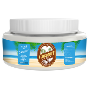 Coconut Oil, Plastic Container Jar, Therapeutic, Classic Oil