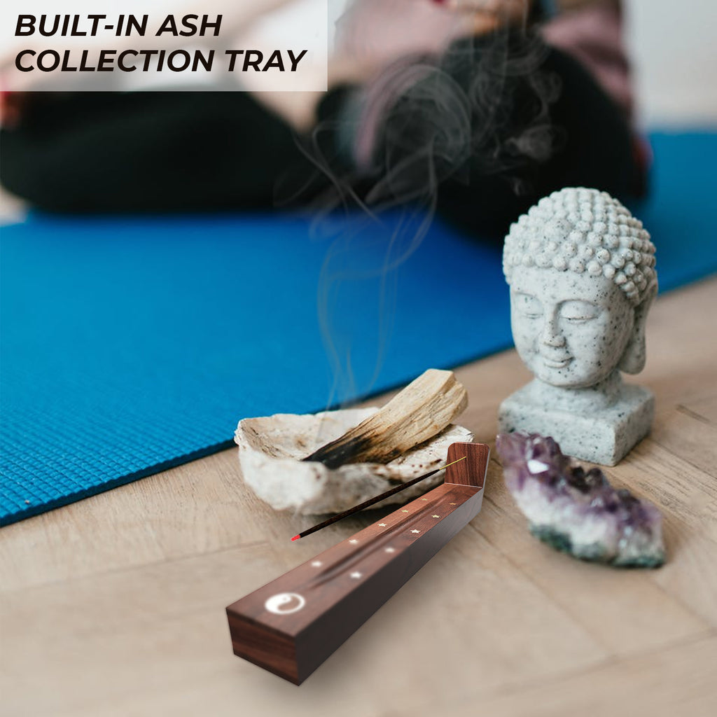 Incense Burner With Ash Catcher - Handmade