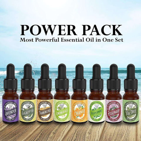 Image of 8 Pack Essential Oil Set [RELAXING SCENT] Oil BargzOils