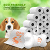 PoshWag Dog Poop Bag with Dispenser and Leash Clip Best Pet Waste Poop Bags Refill No-Core Biodegradable Rolls - 20 Rolls