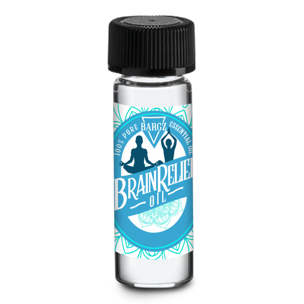 BrainRelief Essential Oil Sample 3.69 ml (1 Per Customer)