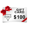Bargz $100 Gift Card - Give The Gift Of Bargz Fragrance