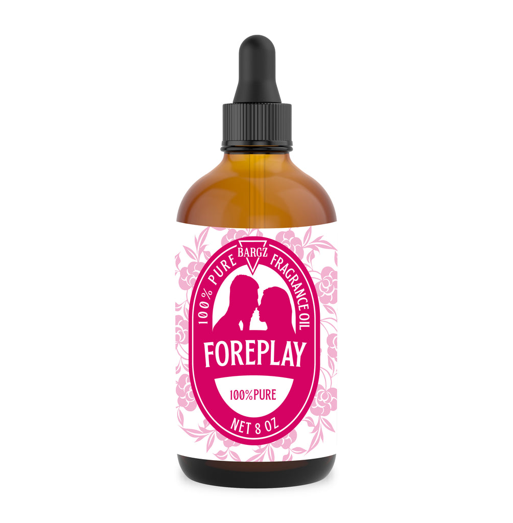 Bargz FOREPLAY Fragrance Oil for Women - Premium Grade Perfume Oil, Sweet Floral Scent Essential Oils in Glass Amber Bottle