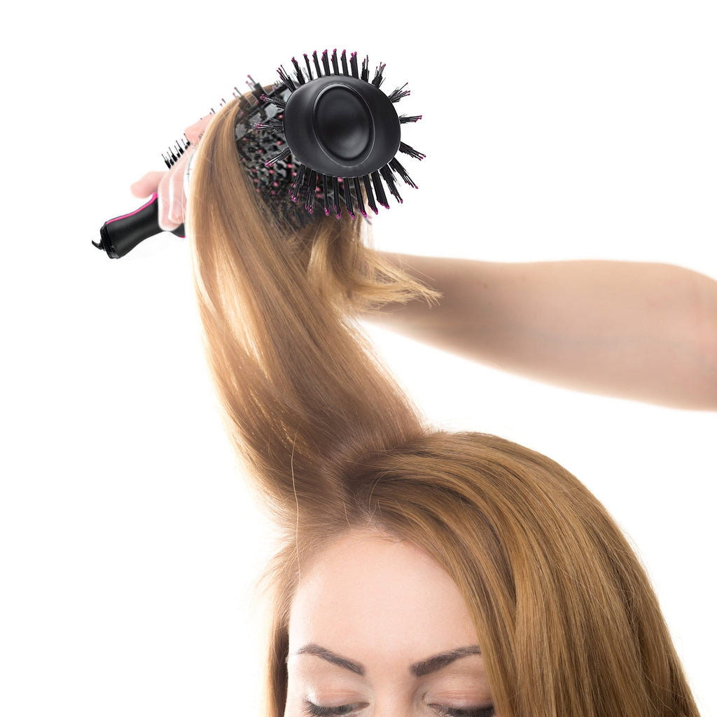 Multifunction 2 in 1 Hair Rotating Dyer and Curler