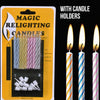 Liplasting 100PCS 2.5/4/5/6/7/9/15/20cm Cotton Candle Wick Smokeless Wick Candle Birthday Candles ,Magic Relighting Candle TSLM1