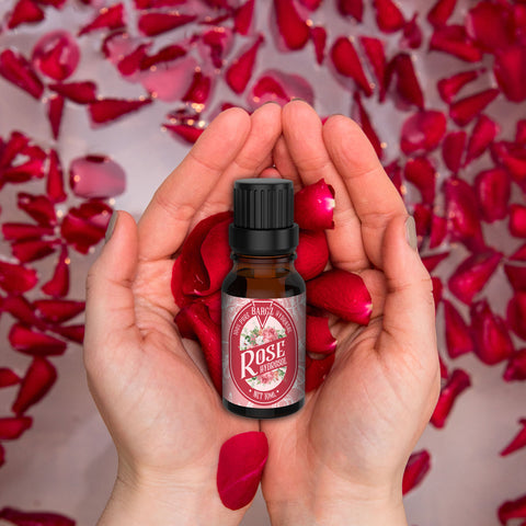 Image of Rose Hydrosol Refreshing Aroma - Prevents Premature Aging, Beautifies Skin Natural Hair Growth Booster and Facial Toner