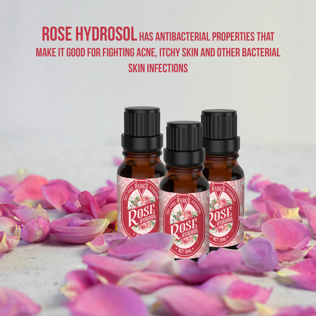 Rose Hydrosol Refreshing Aroma - Prevents Premature Aging, Beautifies Skin Natural Hair Growth Booster and Facial Toner