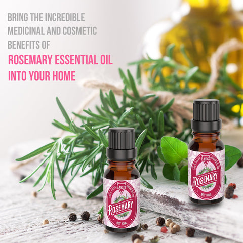 Image of Rosemary Essential Oil, Hair Care, Skin Glow, Cognitive Function & Fresh Stimulating Fragrance