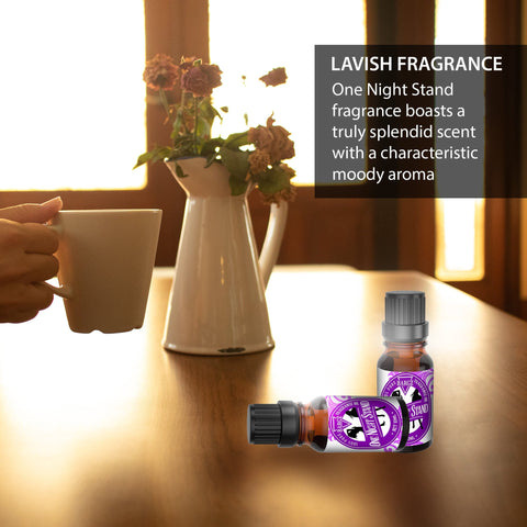 Image of One Night Stand Perfume Oil, Sweet And Musky Fragrance, Glass Amber Bottle