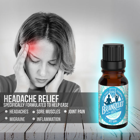 Image of BrainRelief Essential Oil: Natural Relief Headaches, Migraines, Stress & Anxiety