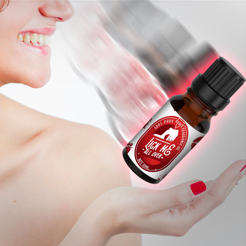 Lick Me All Over Intimate Perfume Oil for Women - Flat Cap